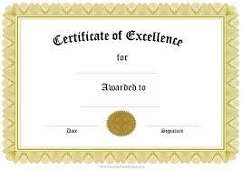 Certificates Printable Awards And Certificates Templates Free Formal Award