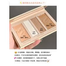 piring membentuk lempeng produk domestik makeup penggunaan ganda matte  wajah tipis garis rambut empa   Shopee Indonesia