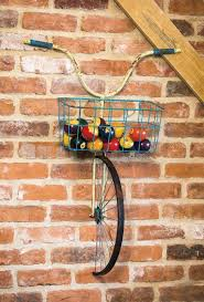 >metal bike wall decor front basket metal bicycle and planter wall  metal bike wall decor front basket metal bicycle and planter wall decor evergreen enterprises inc front basket metal bicycle and planter wall decor
