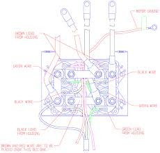 24 vdc 5 wire remote control pack conversion winchserviceparts com Warn 2 5 Ci Wiring Diagram the following drawing is for routing the wires in the control pack to prevent heat damage Warn Winch Controller Wiring Diagram