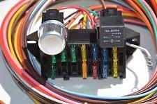 rat rod wiring harness ebay keep it clean wiring harness ac cooling fan keep it clean 12 circuit basic wire harness fuse box street hot rat rod wiring