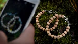 logan ketterling chose this spot in the marine mill area to photograph his wood bracelets for