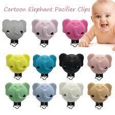 Phụ kiện, đồ chơi mọc răng hoạt hình voi cho trẻ sơ sinh bằng silicon núm  vú clip, bé teether - Sắp xếp theo liên quan sản phẩm
