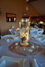 centerpieces for beach themed baby shower with real fish and design ideas of round table centerpiece