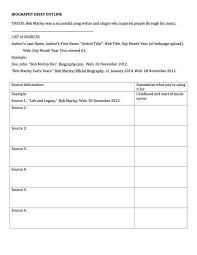 bio essay mrs roy s english class essay outline example