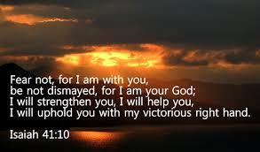 Daily Short Prayers: Isaiah 41:10