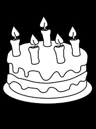 Birthday Cake Drawing Filedraw This Birthday Cakesvg Wikimedia