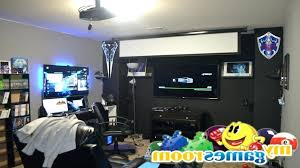 video gaming room furniture. Video Gaming Room Furniture Best Work In Progress One Of The Cool Setups Setup News Game