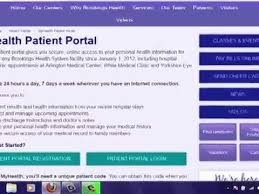 Myhealth Patient Portal Brookings Health System