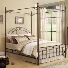 Strong Metal Canopy Bed Frame Queen  Modern Wall Sconces And Bed Canopy Iron Bed