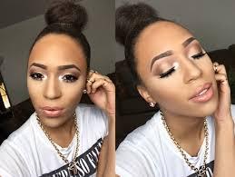 graduation makeup for dark skin prom and graduation makeup tutorial you