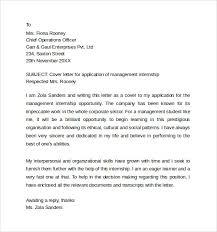 management internship cover letter cover letters for internship