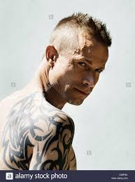 Tribal Art Tattoo Immagini Tribal Art Tattoo Fotos Stock Alamy