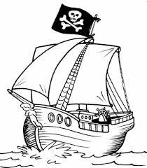 Resultado de imagem para piratas para colorir