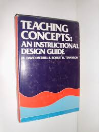 Instructional Design Concepts Teaching Concepts An Instructional Design Guide M David