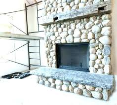 river stone fireplace river rock fireplace cool in decoration ideas with stone surround reading farmhouse family river stone fireplace river rock