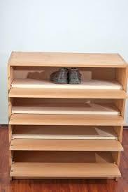 build shoe rack box shelf plans diy design lazy susan
