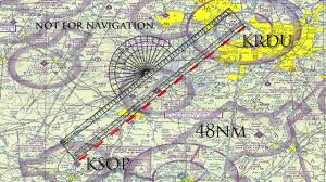 How To Use A Plotter On A Sectional Chart Private Pilot Plotting A Course