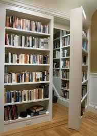 As a bibliophile I truly appreciate this idea, BUT, my secret room would  not be more bookcases.just sayin.