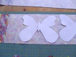 Butterfly Applique Quilt Pattern - Ludlow Quilt and Sew & Making the butterfly applique quilt. Cut butterflies in the fabric Adamdwight.com