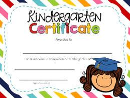Preschool Graduation Certificate Editable Editable Kindergarten Graduation Certificates By Kindergarten Daze