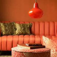 Safari Living Room Decor Stunning Bright Tangerine From Architects For Life The Things I Would Do