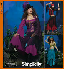 Costume Sewing Patterns Extraordinary Simplicity 48 Misses Costumes