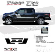 Details About Force Two Solid Side Hockey Decals Stripes Vinyl Graphics 2009 2014 Ford F 150