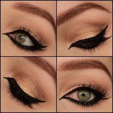 simple arabic eyeliner
