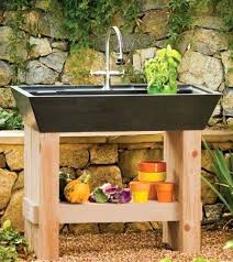garden sinks. Garden Sink Station Farmhouse Prep Sinks Potting Outdoor K
