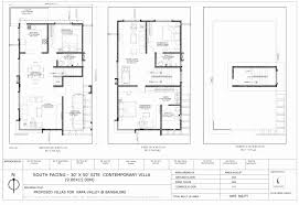 duplex house plans 30x50 fresh 15 beautiful 30x50 duplex house plans south facing