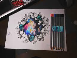 эскизы татуировок космос каталогэскизы татуировок Vk тату на плече