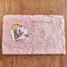 hequn faux fur rug soft fluffy rug gy rugs faux sheepskin rugs floor carpet