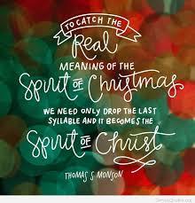 Christmas Spirit Quotes Extraordinary The Spirit Of Christmas