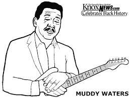 Musicisti Famosi Muddy Waters Disegni Da Colorare 24