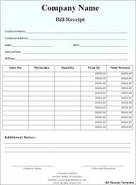 How To Make A Receipt Invoice Template Sales For Used Car