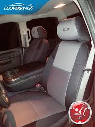chevy silverado custom fit seat covers
