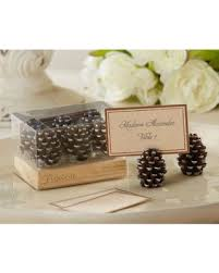 fall wedding place card holders. pinecone fall wedding place card holders(set of 6) holders n
