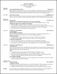 Hbs Resume Template Best Of Resume Templates Harvard Business School Resume Template Hbse