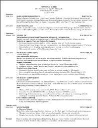 Hbs Resume Template Best Of Resume Templates Harvard Business School Resume Template Hbse