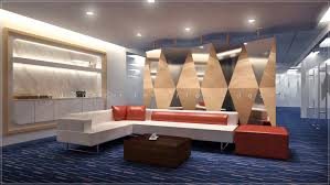 office designer online. 3d Office Waiting Lounge Interior Design Designer Online