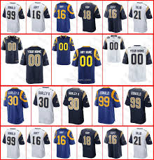 40b57 Jersey Coupon Angeles Af032 Rams For Los Custom