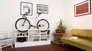 Bicycle Furniture This Furniture Doubles As Beautiful Bike Storage For Tiny Apartments