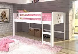 Loft Bedroom Furniture Twin White Circles Low Loft Bed Crazy Jays Furniture Sleep Shop