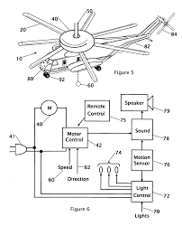 patent us20070057805 combination ceiling fan light and patent drawing