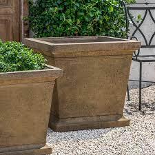 cast stone concrete planters kinsey