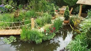 Small Picture Tranquility Water Garden Exhibit Hampton Court Flower Show