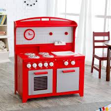 Retro Red Kitchen Hideaway Folding Retro Kitchen Red At Hayneedle