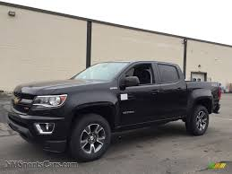 Colorado black chevy colorado : 2017 Chevrolet Colorado Z71 Crew Cab 4x4 in Black - 179783 ...