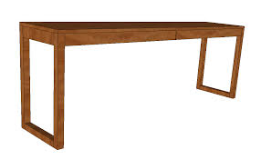 ikea besta burs inspired desk with drawers